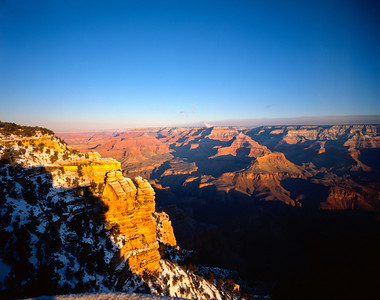 Nobody, North America, USA, Arizona, Grand Canyon National Park, the Inner Gorge from Yaki Point
