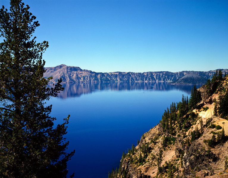 Nobody, North America, USA, Oregon, Crater Lake in Crater Lake National Park