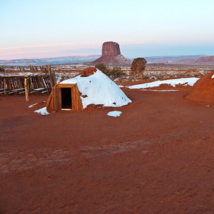 Snowy Hogans, Monument Valley