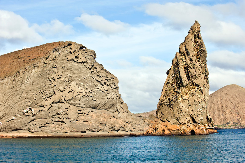 Ecuador, Galapagos Islands, Bartolome Island and Pinacle Rock