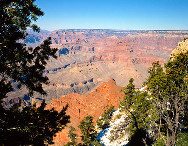 Nobody, North America, USA, Arizona, Grand Canyon National Park, Temples, Towers and Spires from Grandview Point