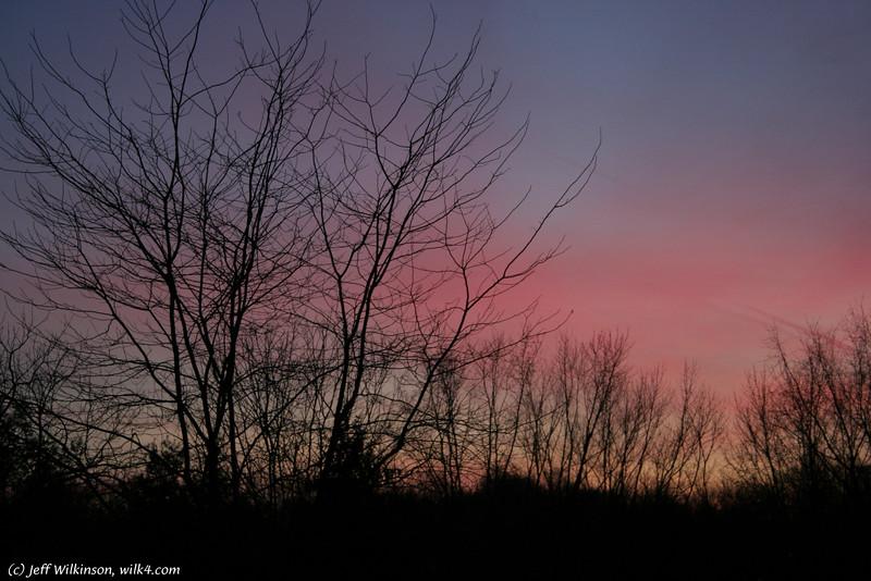 #7970, a december sunset