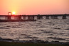 #8491, Sunrise over the Chesapeake Bay Bridge