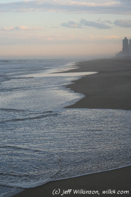"""#9439, dusk at the beach, Ocean City, Maryland (this photo is for sale on istockphoto, <a href=""""http://www.istockphoto.com/file_closeup.php?id=4550965?refnum=jwilkinson"""">#4550965</a>)"""