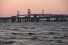 #8488, Sunrise over the Chesapeake Bay Bridge
