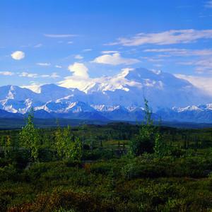 Mount McKinley (Denali) in Denali N. P. Alaska