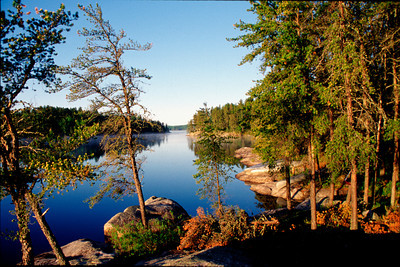Lake Kawnipi, Boundry Waters Canoe Area Wilderness-Quetico Park, Campsite