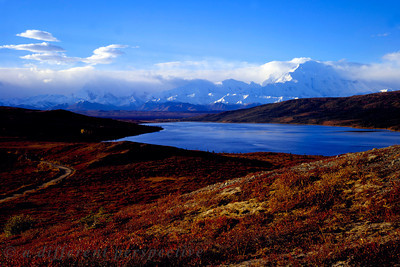Denali and Wonder Lake in the Fall
