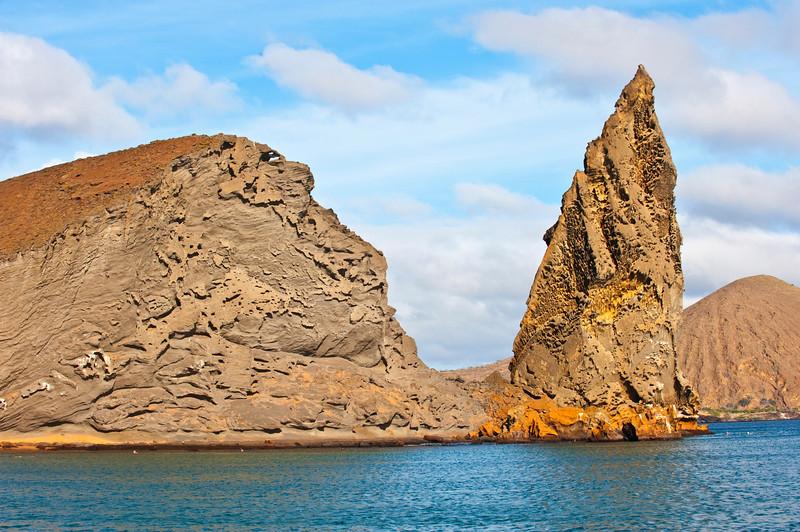 Pinacle Rock, Bartolome Is., Galapagos, Ecuador
