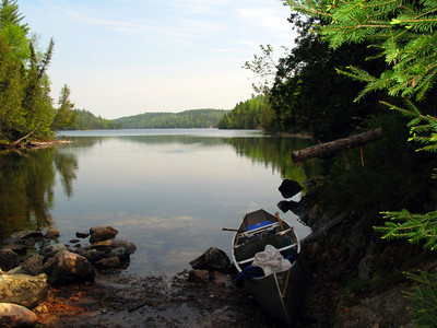 Canoe Country Scenery, Ready to Paddle