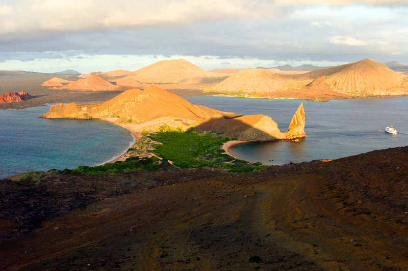 Ecuador, Galapagos Islands, Bartolome Island and Pinacle Rock II