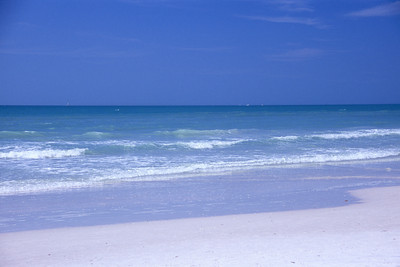Crescent Beach, Sand, Sea, Sky, Siesta Key, Sarasota Florida