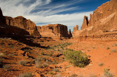 Arches National Park, Utah, Park Avenue