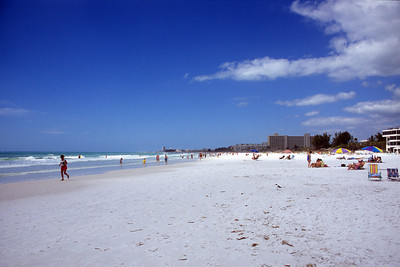 Crescent Beach, Siesta Key, Sarasota Florida