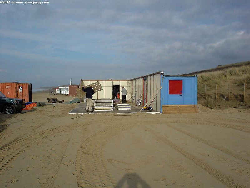 "<a href=""http://www.strandtentsoomers.nl/"">Strandtent Soomers</a>. In a week or so, the chairs, lounge sofas and comfy stuff will be back"