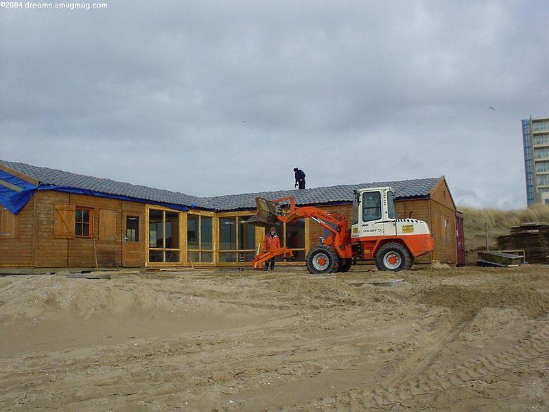 Mambo beach club being built