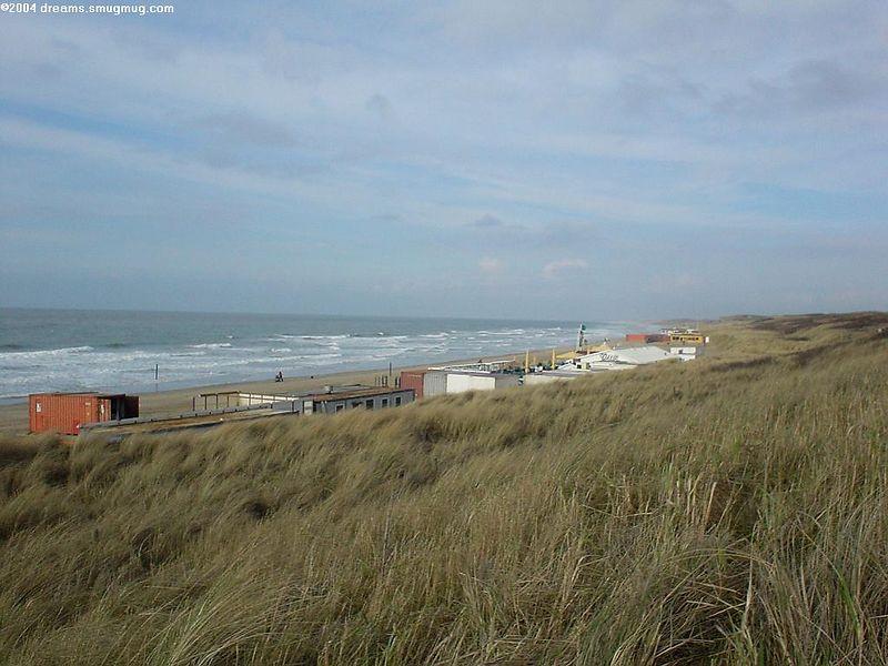 Scheveningen, Noorderstrand, view from the dunes