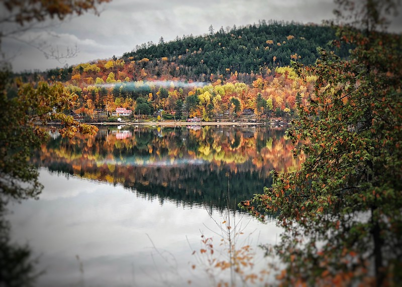 Schroon Lake Ny reflection