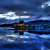 HDR image of Eilean Donan Castle on Loch Duich.  June 4, 2009