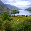 Glenfinnan Monument and Loch Shiel, Scotland