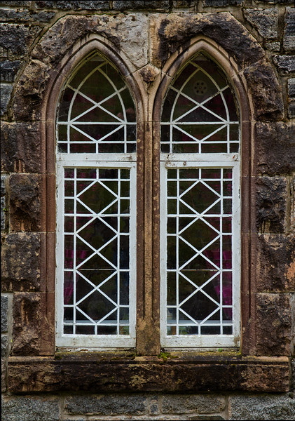 Twin Windows - St. Conan's Kirk (Church), Loch Awe, Scotland