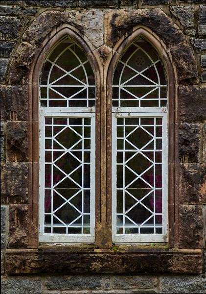 Twin Windows - St. Conan's Kirk (Church), Loch Awe, Scotland