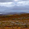 Isle of Skye from Bealach na Ba, Applecross Peninsula, Scotland