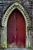 St. Conan's Kirk Red Door - Loch Awe, Scotland