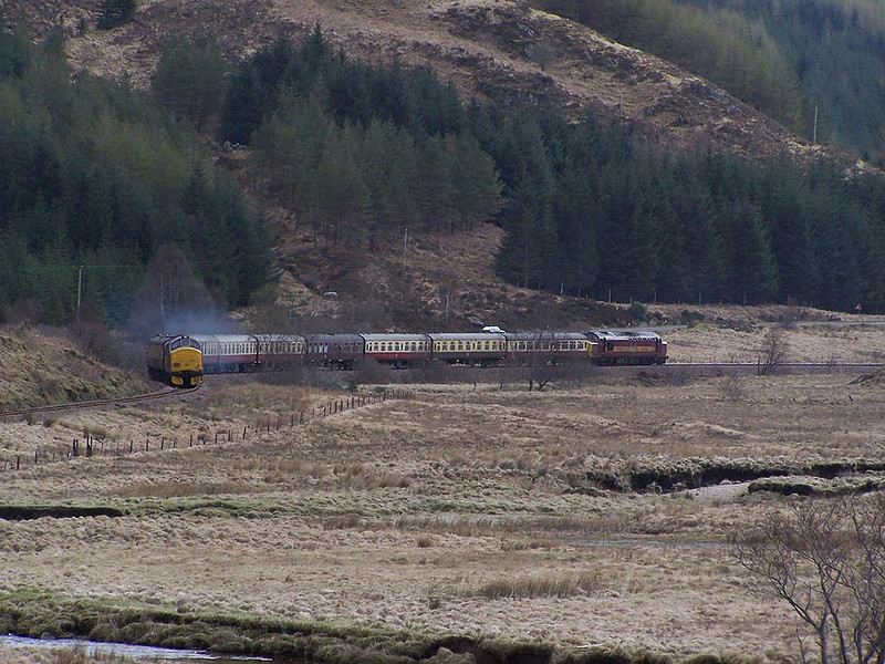 37670, Glenfinnan. April 2009.