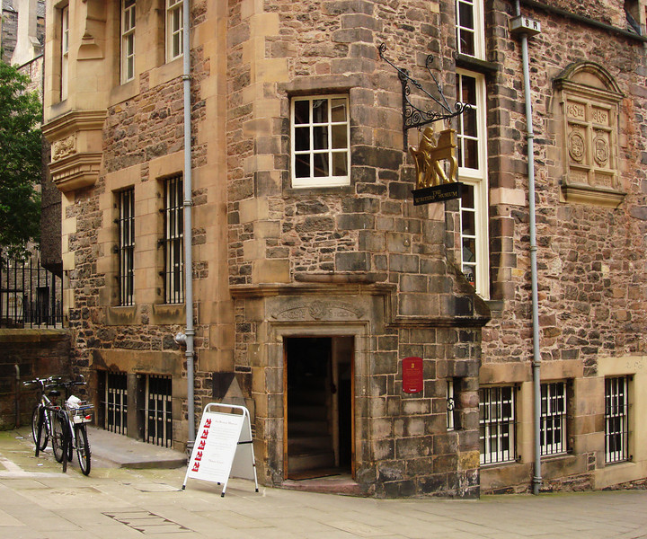 Writer's Museum in Edinburgh Scotland