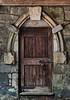 St. Conan's Kirk Brown Door - Loch Awe, Scotland