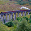 Jacobite Steam Train on the Glenfinnan Viaduct, Scotland