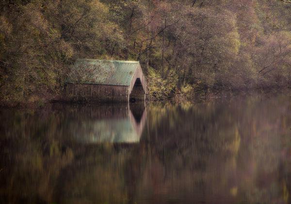 The Boathouse - Loch Ard, Scotland