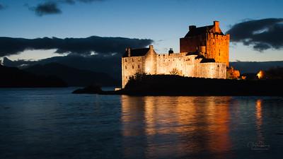 Eilean Donan by Night
