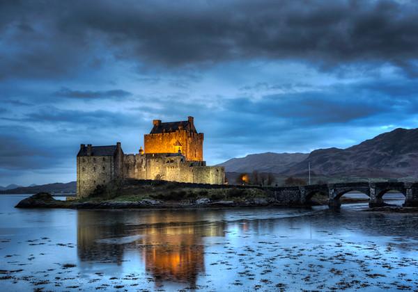 Eilean Donan Castle - Loch Alsh, Scotland