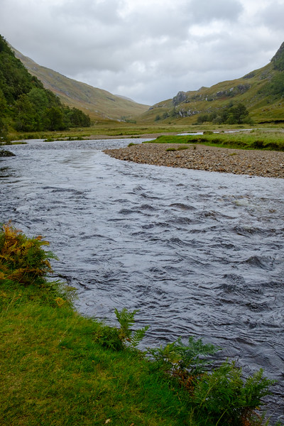 Steall Meadow, Glen Nevis, Scotland