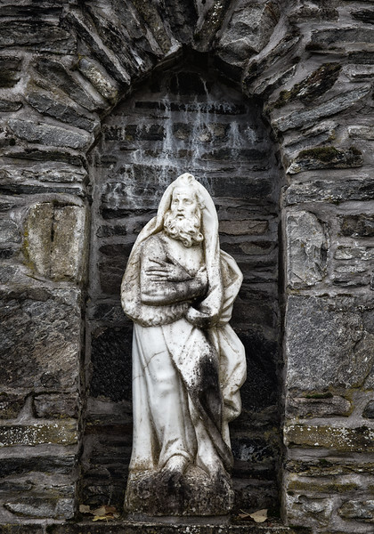 Statue at Blair Castle - Pitlochry, Scotland