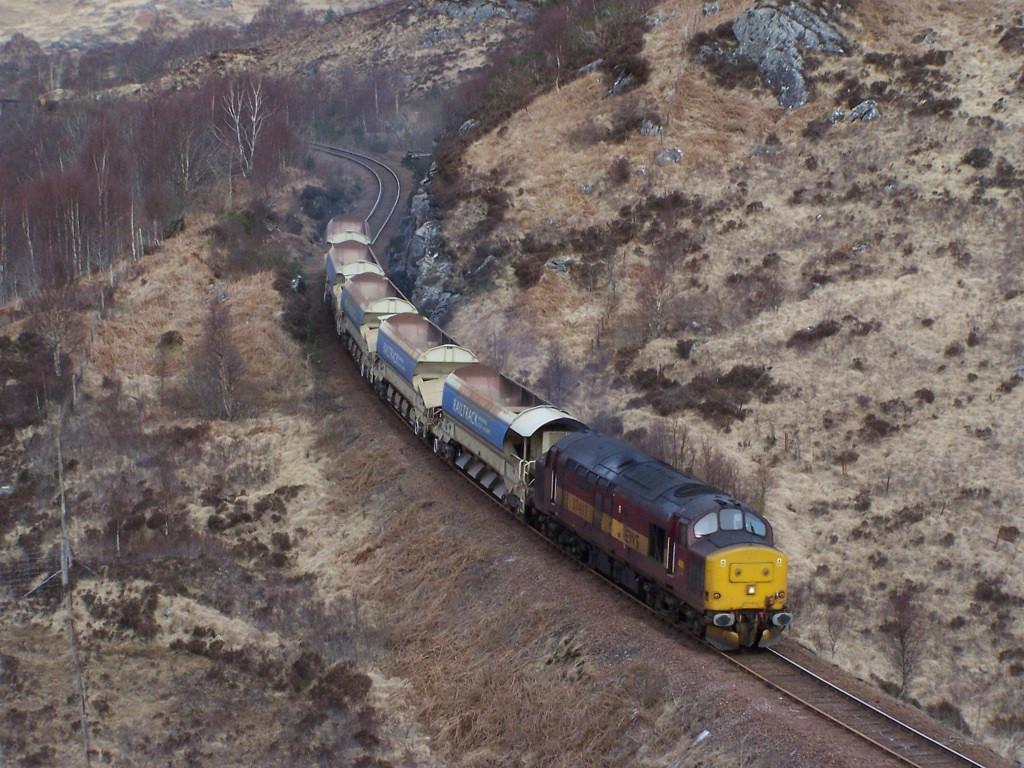 37417, Glenfinnan. March 2008.