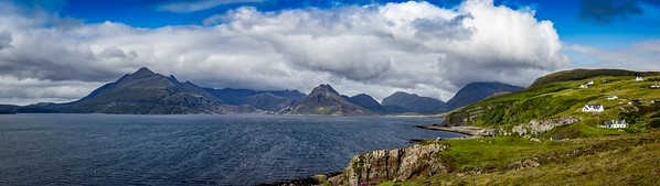 The Black Cuillin from Elgol, Skye.