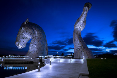 The Kelpies @ The Helix