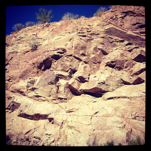 Camelback, up close<br /> The Phoenician