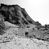 A bastion of sedimentary rock