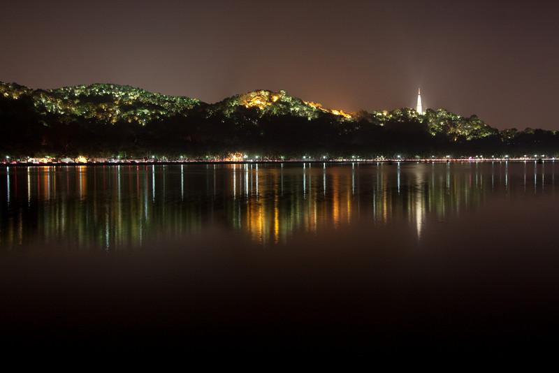 The hills of Hangzhou.