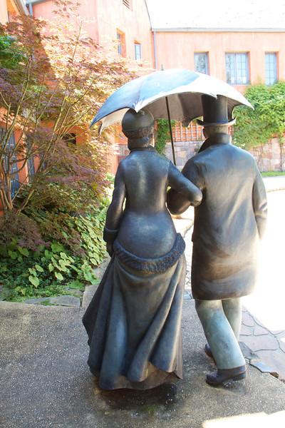 Sculpture Garden in Trenton