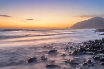 Mugu Rock Sunset