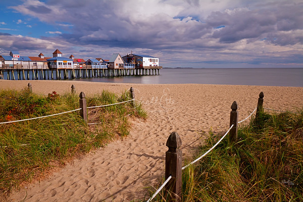 Old Orchard Beach Path to the Pier