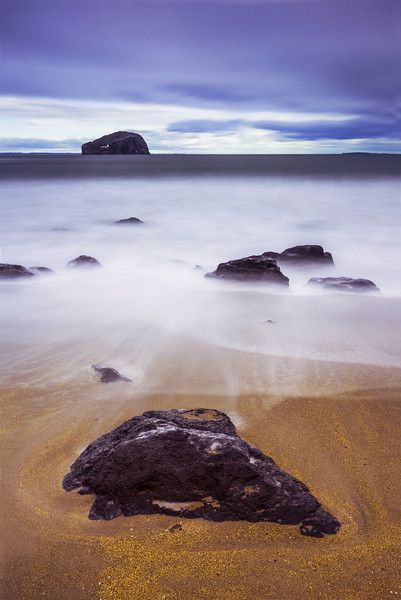 Bass Rock at Seacliff Beach