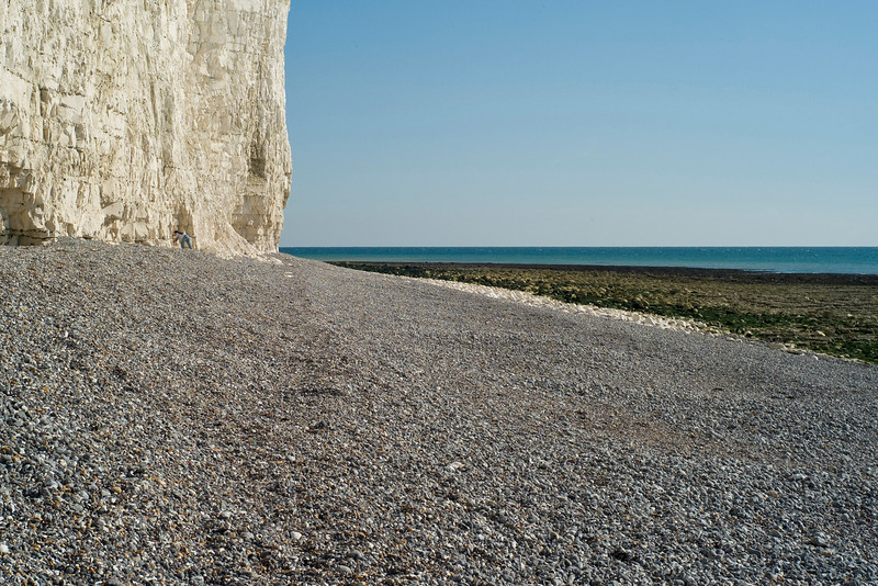 Beach at Birling Gap, September 2007