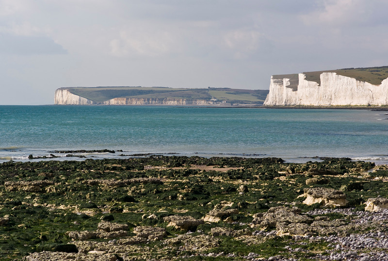 Seven Sisters & Cuckmere Haven from Birling Gap, September 2007