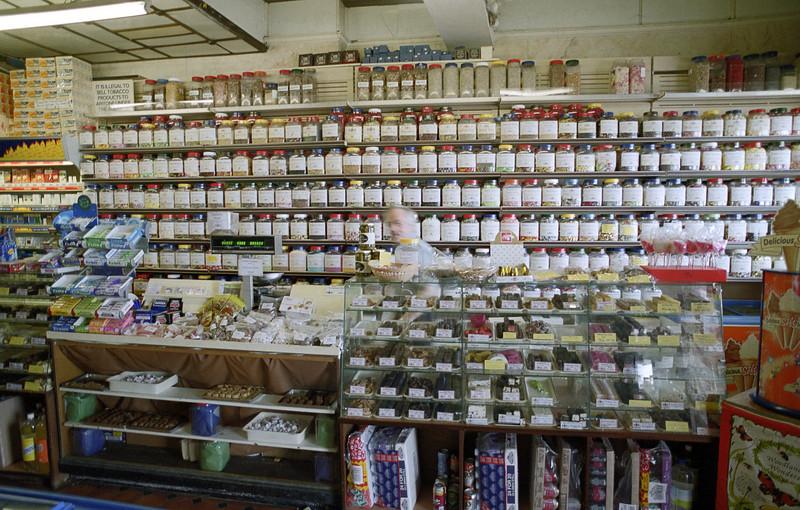 Traditional sweet shop, Margate, September 2002